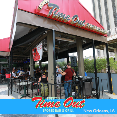 Time Out Sports Bar and Grill, New Orleans, LA